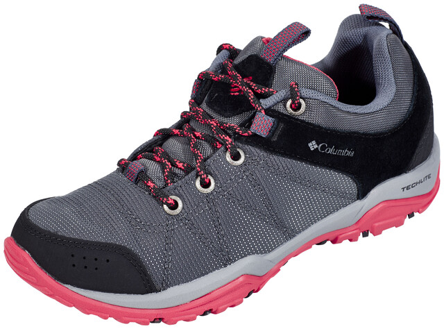 Columbia Fire Venture Textile Chaussures Femme, graphitesunset red